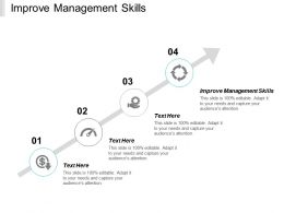 Improve Management Skills Ppt Powerpoint Presentation Gallery Slide Download Cpb