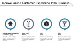 Improve Online Customer Experience Plan Business Product Training Cpb