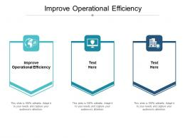 Improve Operational Efficiency Ppt Powerpoint Presentation Show Shapes Cpb
