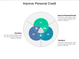Improve Personal Credit Ppt Powerpoint Presentation Ideas Infographics Cpb