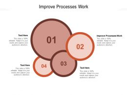 Improve Processes Work Ppt Powerpoint Presentation Gallery Infographic Template Cpb