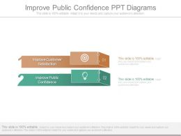 Improve Public Confidence Ppt Diagrams