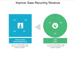 Improve Saas Recurring Revenue Ppt Powerpoint Presentation Layouts Design Templates Cpb