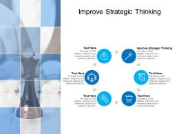 Improve Strategic Thinking Ppt Powerpoint Presentation Summary Cpb