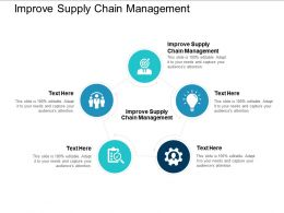 Improve Supply Chain Management Ppt Powerpoint Presentation Styles Example Topics Cpb