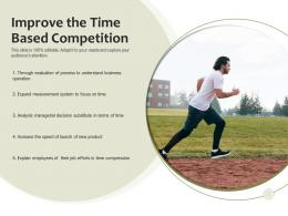 Improve The Time Based Competition