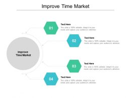 Improve Time Market Ppt Powerpoint Presentation Infographics Deck Cpb