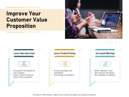 Improve Your Customer Value Proposition Product Ppt Powerpoint Presentation Graphics Download