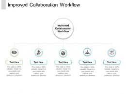 Improved Collaboration Workflow Ppt Powerpoint Presentation Portfolio Design Templates Cpb