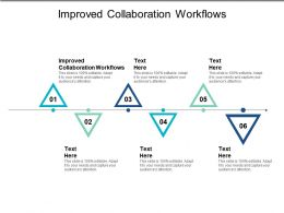 Improved Collaboration Workflows Ppt Powerpoint Presentation File Format Cpb