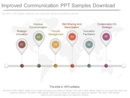 Improved Communication Ppt Slide Examples