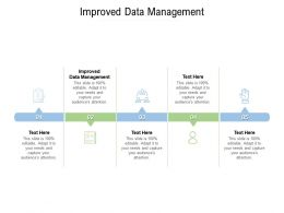 Improved Data Management Ppt Powerpoint Presentation Gallery Guide Cpb