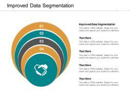Improved Data Segmentation Ppt Powerpoint Presentation File Formats Cpb