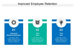Improved Employee Retention Ppt Powerpoint Presentation File Slide Download Cpb