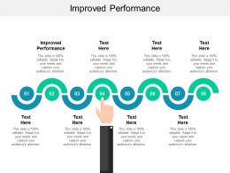 Improved Performance Ppt Powerpoint Presentation Outline Files Cpb
