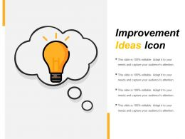 Improvement Ideas Icon Powerpoint Slide Rules