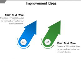 Improvement Ideas Powerpoint Slide Show