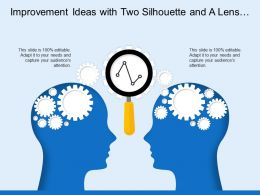 Improvement Ideas With Two Silhouette And A Lens With Gear