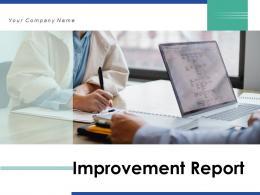 Improvement Report Performance Business Measures Departmental Measurement