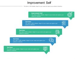Improvement Self Ppt Powerpoint Presentation Inspiration Picture Cpb