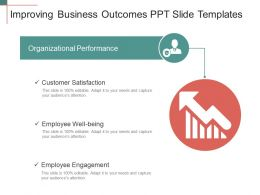 Improving Business Outcomes PPT Slide Templates