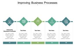 Improving Business Processes Ppt Powerpoint Presentation Infographic Template Cpb