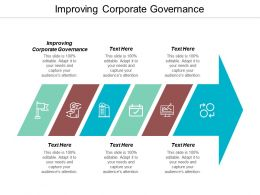 Improving Corporate Governance Ppt Powerpoint Presentation File Example Introduction Cpb