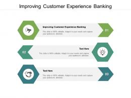 Improving Customer Experience Banking Ppt Powerpoint Presentation Infographic Template Cpb