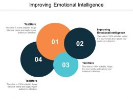 Improving Emotional Intelligence Ppt Powerpoint Presentation Infographic Template Cpb