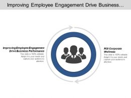 Improving Employee Engagement Drive Business Performance Roi Corporate Wellness Cpb