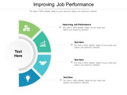 Improving Job Performance Ppt Powerpoint Presentation Gallery Skills Cpb