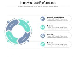 Improving Job Performance Ppt Powerpoint Presentation Summary Images Cpb