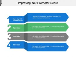 Improving Net Promoter Score Ppt Powerpoint Presentation Slides Guidelines Cpb