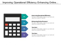 Improving Operational Efficiency Enhancing Online Presence Core Processes
