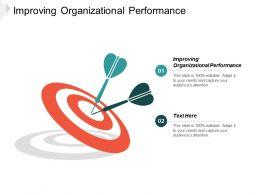 Improving Organizational Performance Ppt Powerpoint Presentation Portfolio Demonstration Cpb