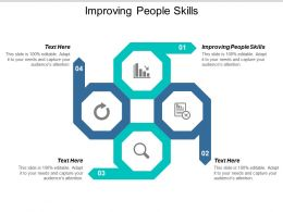 Improving People Skills Ppt Powerpoint Presentation Infographics Smartart Cpb