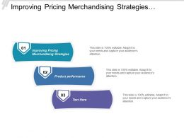 Improving Pricing Merchandising Strategies Product Performance Customer Experience