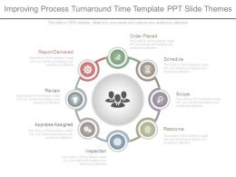 Improving Process Turnaround Time Template Ppt Slide Themes