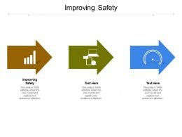 Improving Safety Ppt Powerpoint Presentation Infographics Master Slide Cpb