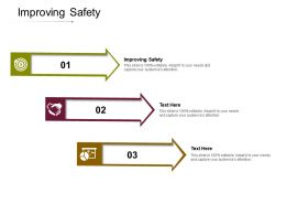 Improving Safety Ppt Powerpoint Presentation Styles Images Cpb