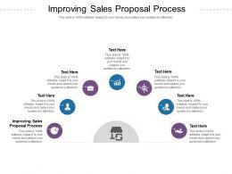 Improving Sales Proposal Process Ppt Powerpoint Presentation Inspiration Slideshow Cpb