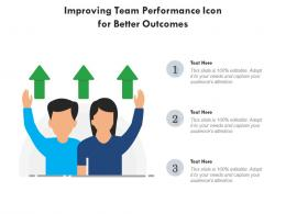 Improving Team Performance Icon For Better Outcomes