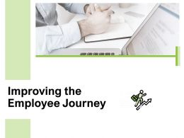 Improving The Employee Journey Checklist Ppt Powerpoint Presentation Pictures Format