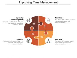 Improving Time Management Ppt Powerpoint Presentation Gallery Background Images Cpb