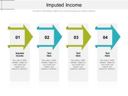 Imputed Income Ppt Powerpoint Presentation Slides Elements Cpb