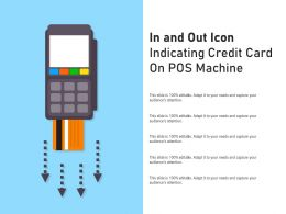 In And Out Icon Indicating Credit Card On Pos Machine