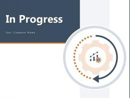 In Progress Circular Indication Construction Business Development