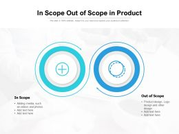 In Scope Out Of Scope In Product