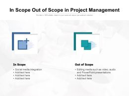 In Scope Out Of Scope In Project Management