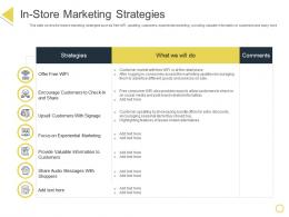 In Store Marketing Strategies Retail Positioning STP Approach Ppt Powerpoint Presentation Show Slides